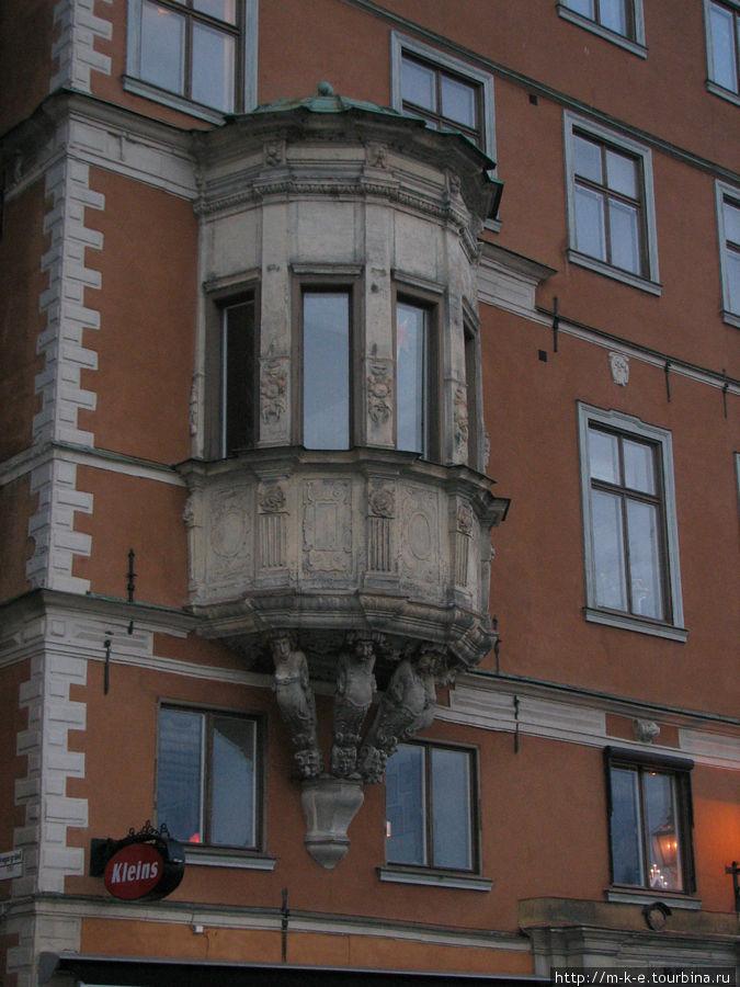 Единственная сторожевая башня в Gamla Stan.