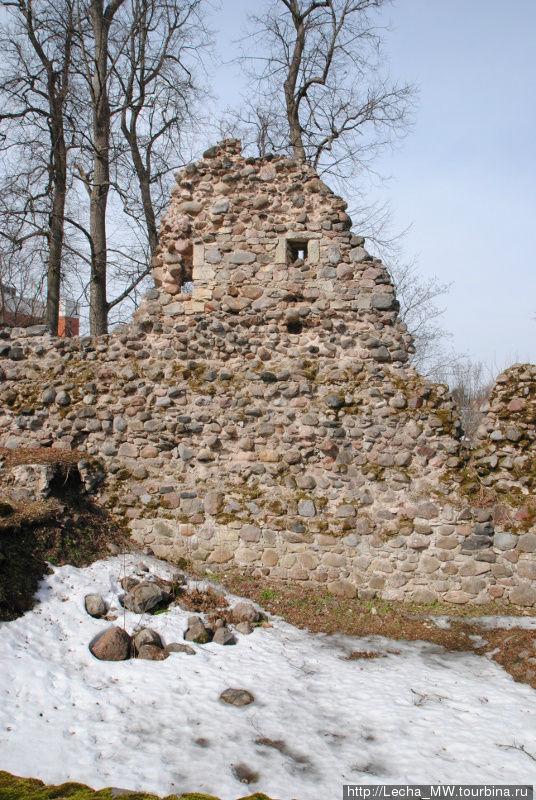 Замок в Валмиера