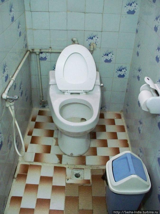 Туалеты не в номерах, а на этаже