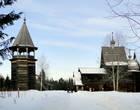 Колокольня и Богородицкая церковь. Высота колокольни 30 метров