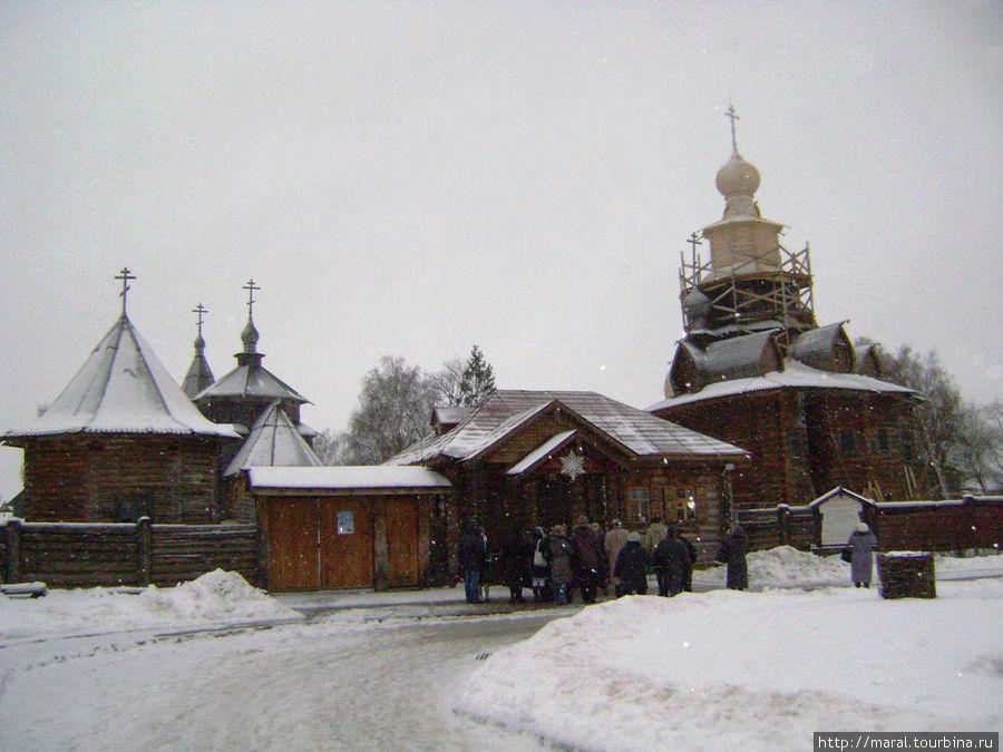 Музей деревянного зодчества воспроизводит крестьянский быт минувшей эпохи