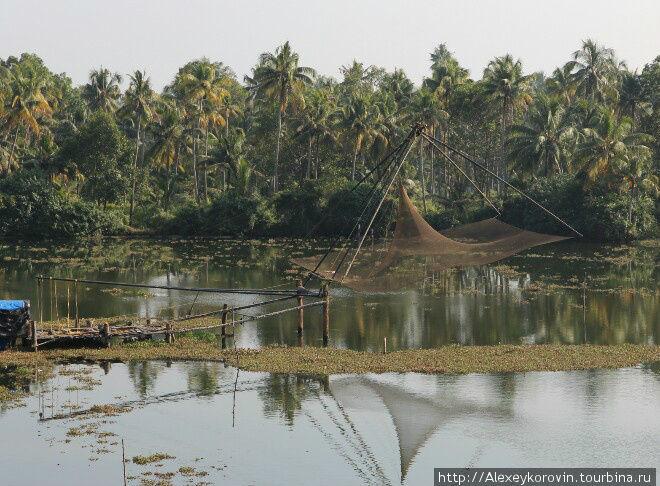 Местный способ рыбной ловли