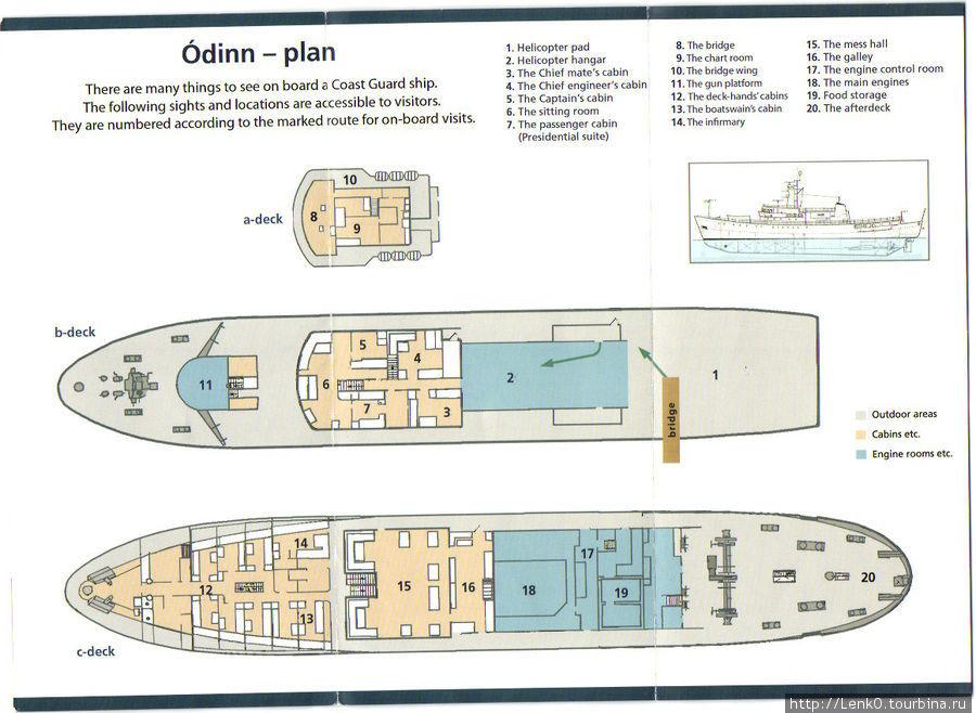 план-схема Одинна