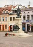 Рыночная площадь. Памятник Тадеушу Костюшко