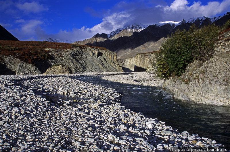 Река Снежник — правый приток Ниткана.
