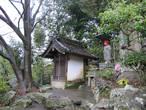 Синтоистское святилище на территории парка