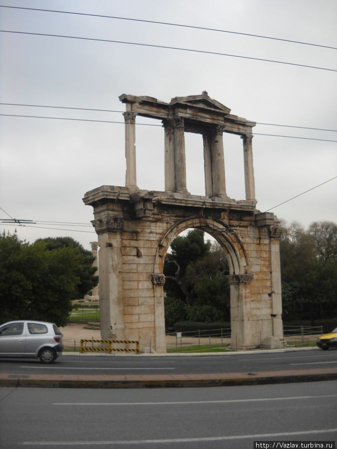 Вид на арку