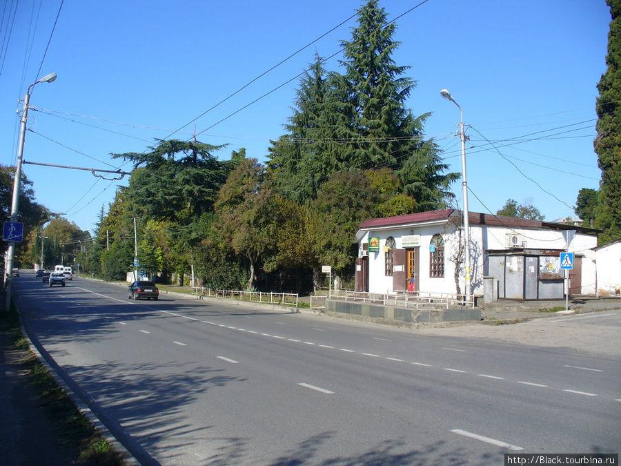 Улица Дзидзария