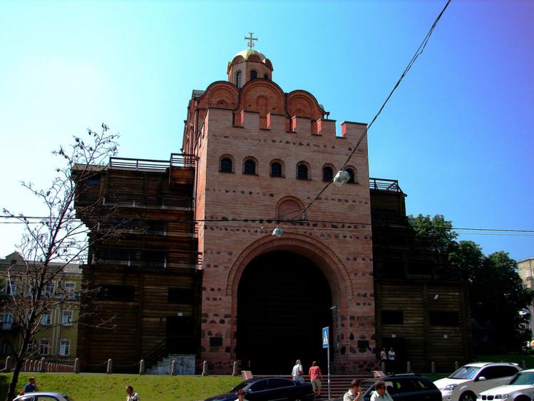 Золотые ворота (реконстру