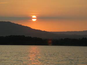Закат над Никарагуа