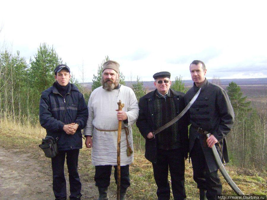 Иван Сусанин, он же егерь Владимир Шахонский, и пан Лисовский, он же учитель физкультуры Юрий Смирнов, как завели, так и вывели туристов из болота
