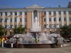 Светомузыкальный фонтан на главной площади города