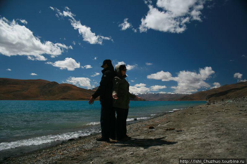 Озеро Ямдрок Цхо Тибет
