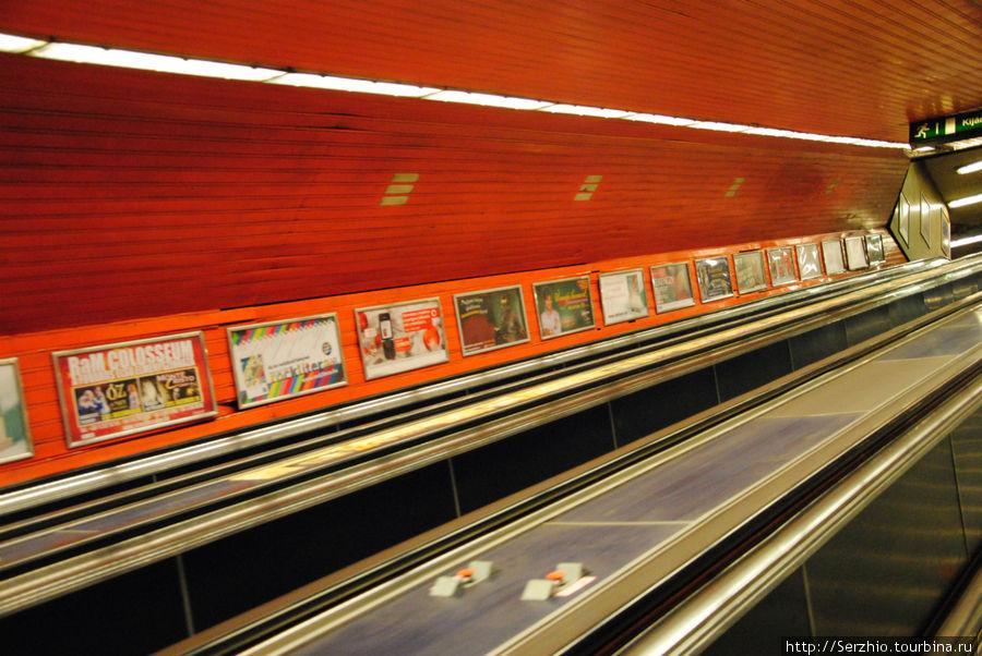 Спуск в метро на Синюю линию №3