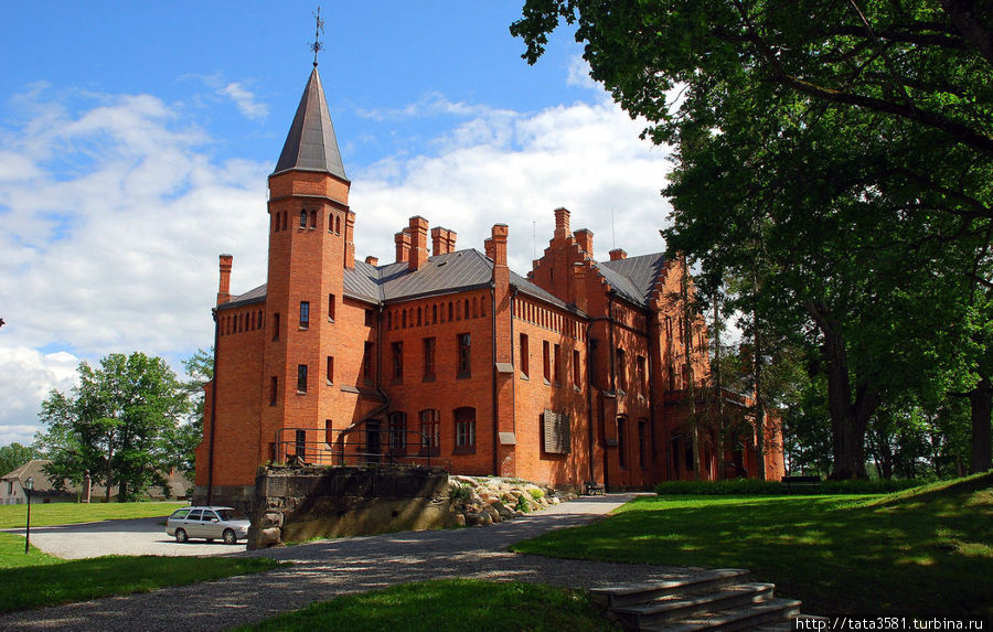 Замок Сангасте Сангасте, Эстония