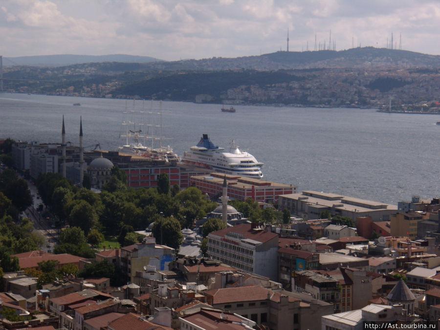 Босфор и порт Каракёй.