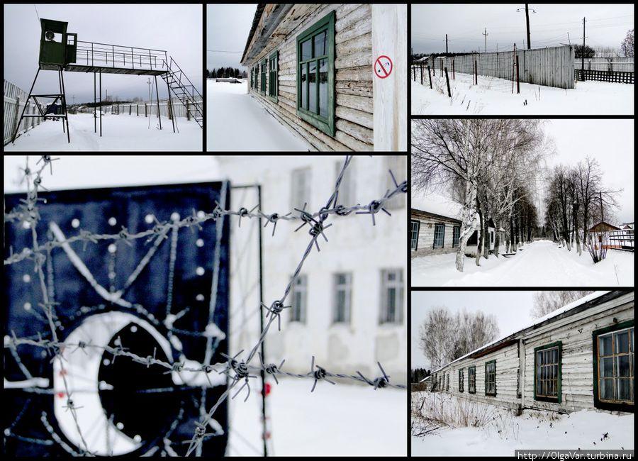 Бараки отреставрировали, а утраченные элементы (вышки, сигнально-предупредительные сооружения, инженерные коммуникации), уничтоженные при закрытии лагеря, воссоздали заново. Это был единственный лагерь, где заключенным разрешили высадить аллею, сохранившуюся и поныне