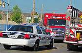 Наличие своей полиции подчеркивает статус города. Мелкие города не могут позволить себе содержание полиции и нанимают в штате шерифа.