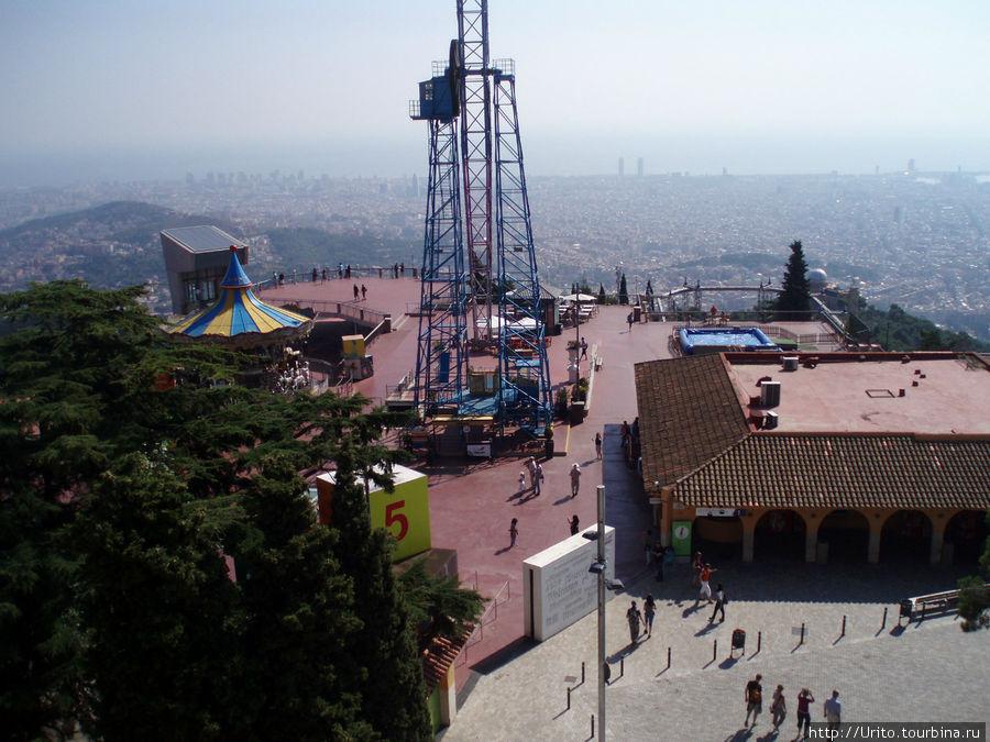 смотровая площадка на Тибидабу