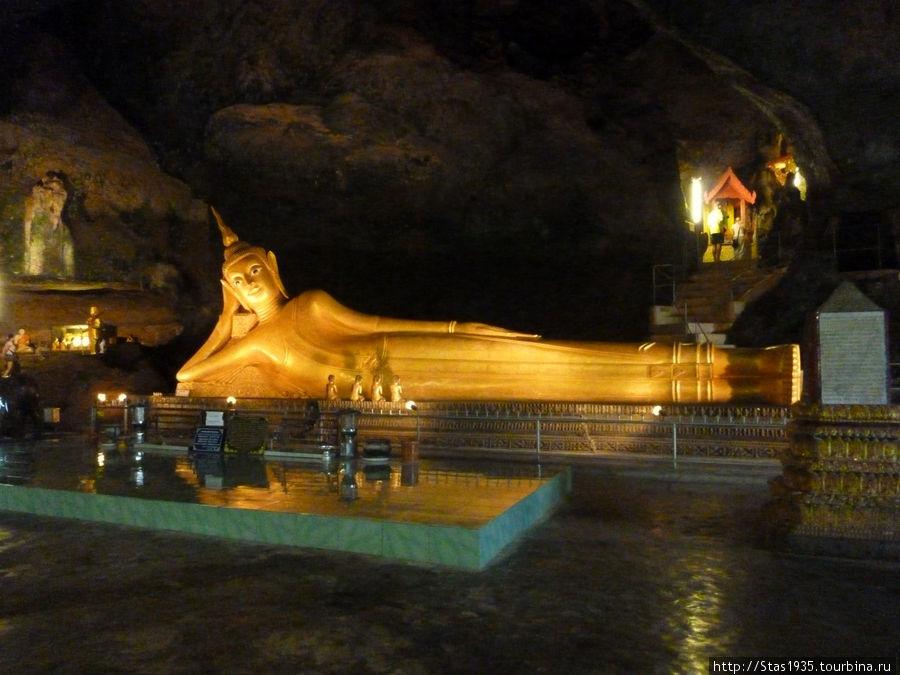Южный Таиланд. Пещерный храм Ват Там в пещере Суван Куха.