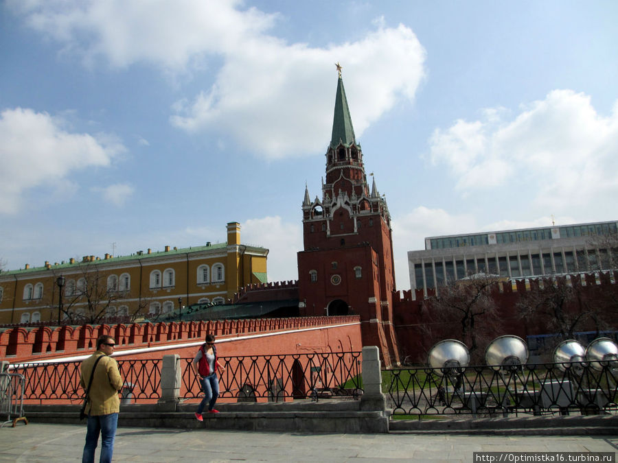 Троицкий мост и Троицкая башня