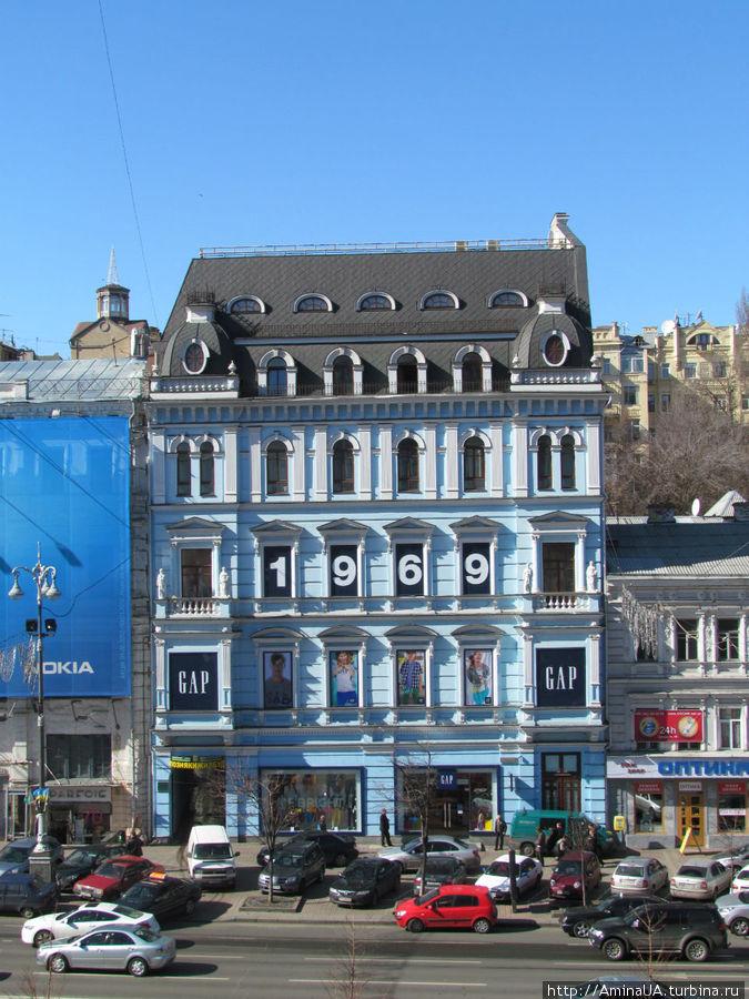 вид с балкона — напротив