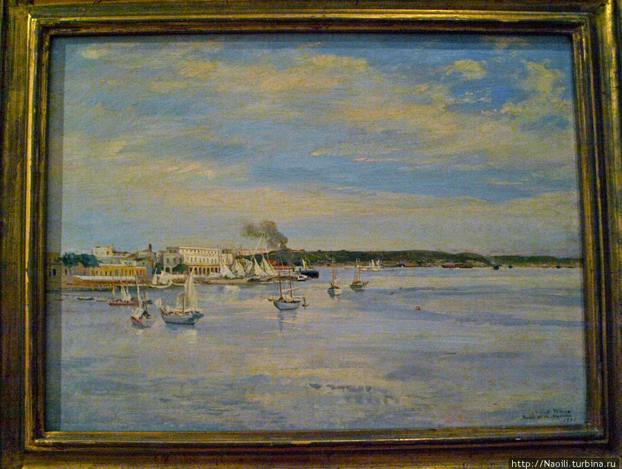 Гаванская бухта, 1889