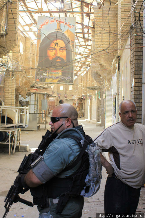 Военные, которые будут встречаться на моих фото — это ребята, сопровождающие и охраняющие нас на протяжении всего нашего маршрута в Ираке. Американских военных снимать нельзя.