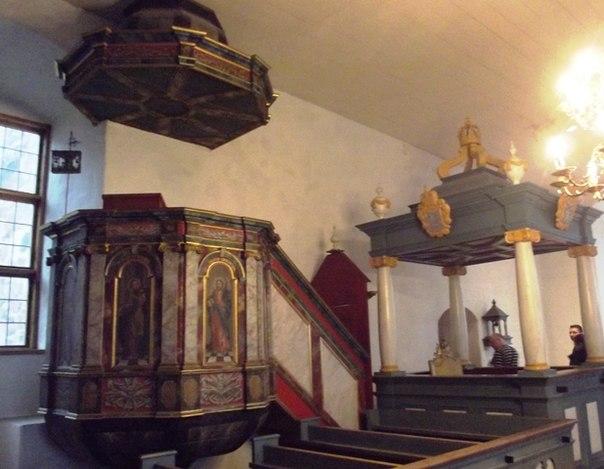 Церковь в замке Турку