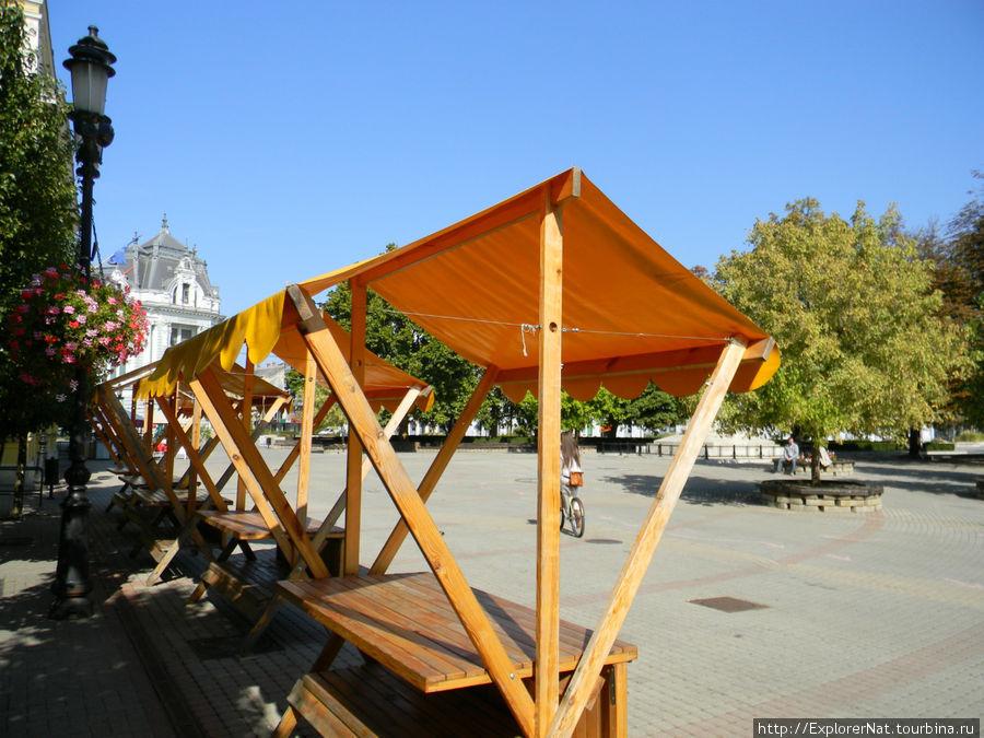 Ниредьхаза -центр города, ярмарок