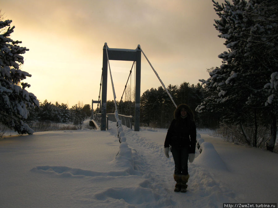 мост через реку Коваши