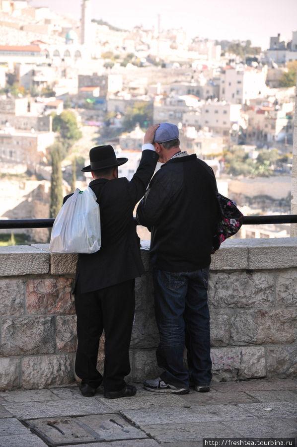 Еврейский квартал Старого города: с видом на Масличную гору.
