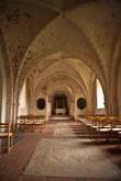 церквушка 11 века около замка Троллехольм