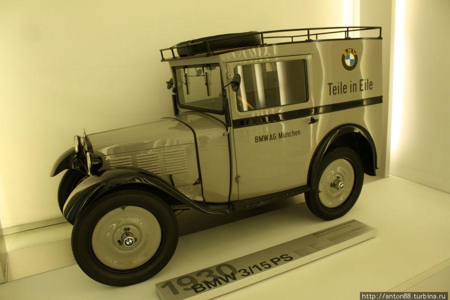 первый автомобиль от бмв