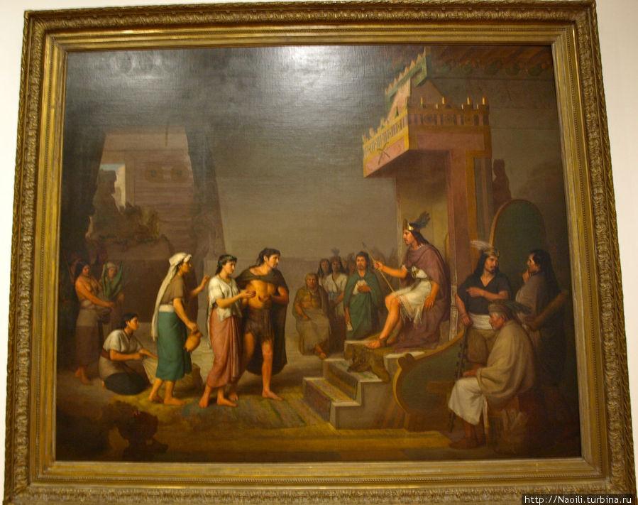 Открытие пульке (основа текилы), 1869, Хосе Мария Обрегон