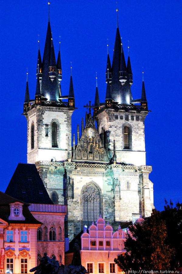 Ночью Прага очень обаятельна