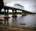 Автомобильный мост, самый длинный мост Белоруссии
