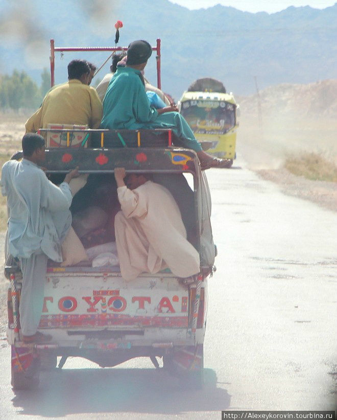 По дороге в Карачи