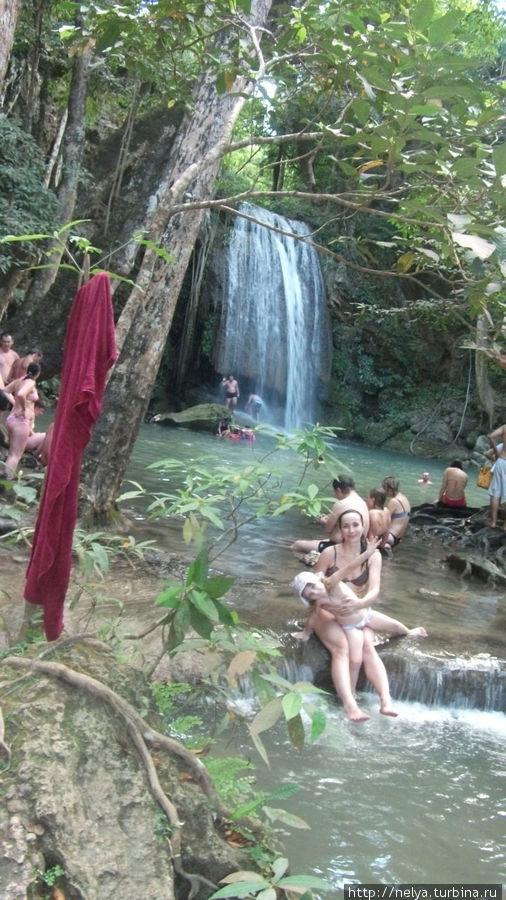 Семиуровневый водопад Эраван