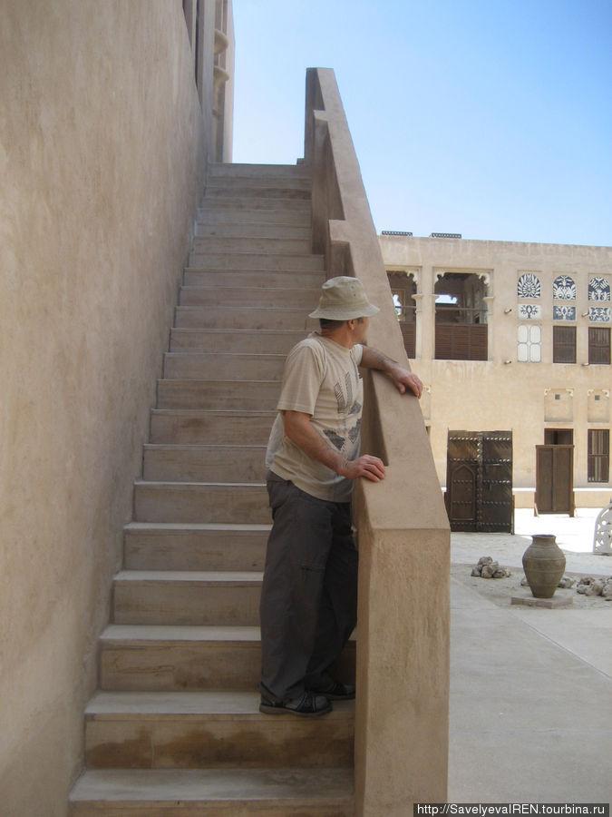 Внутренний двор дома шейха Саида аль Мактума.