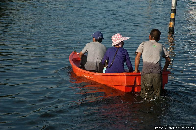 аренда лодки бангкок
