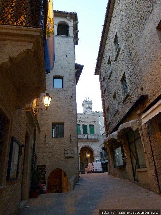 Улочка в историческом центре