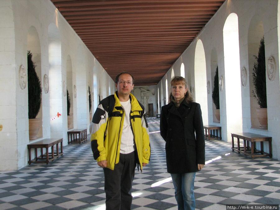 Замок Шенонсо — Большая галерея