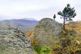Любуясь долиной с вершин Демерджи
