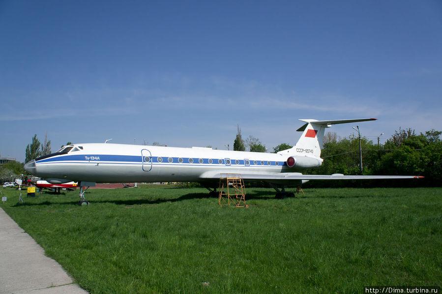 Легендарный Ту-134