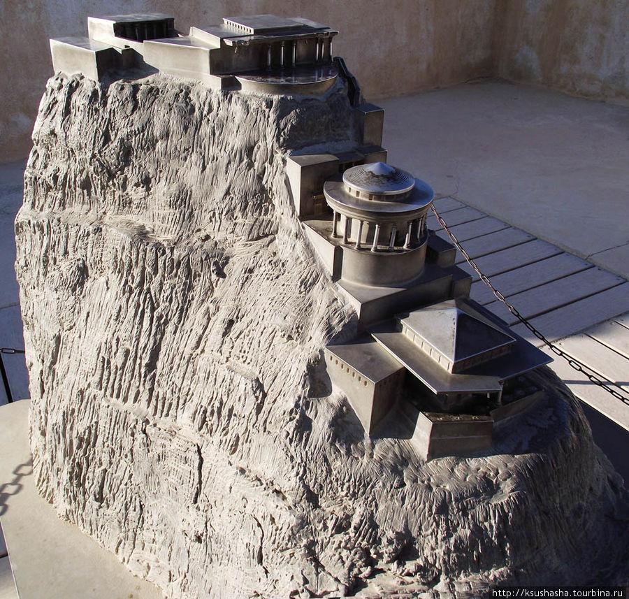 Макет реконструкции Северного дворца