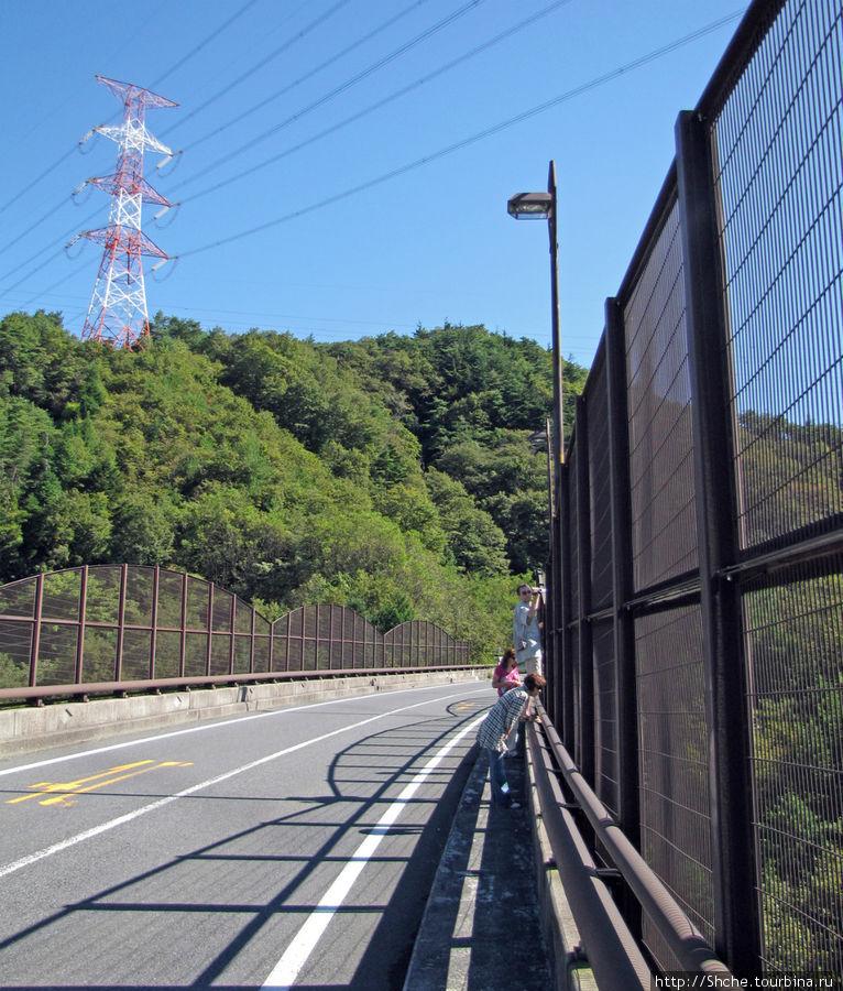 Мост явно не для фотографов и самоубийц