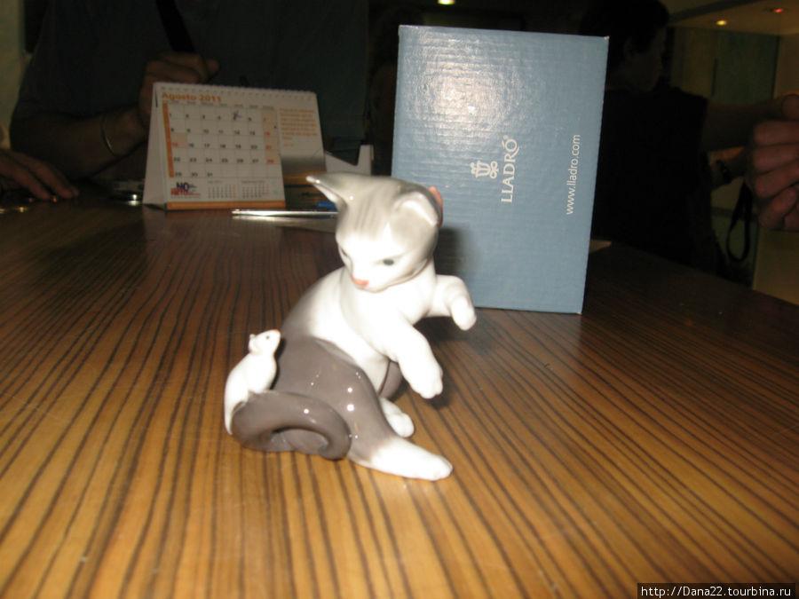 Кот фарфорового дома Lladro, который пополнил мою коллекцию котов со всего мира :)