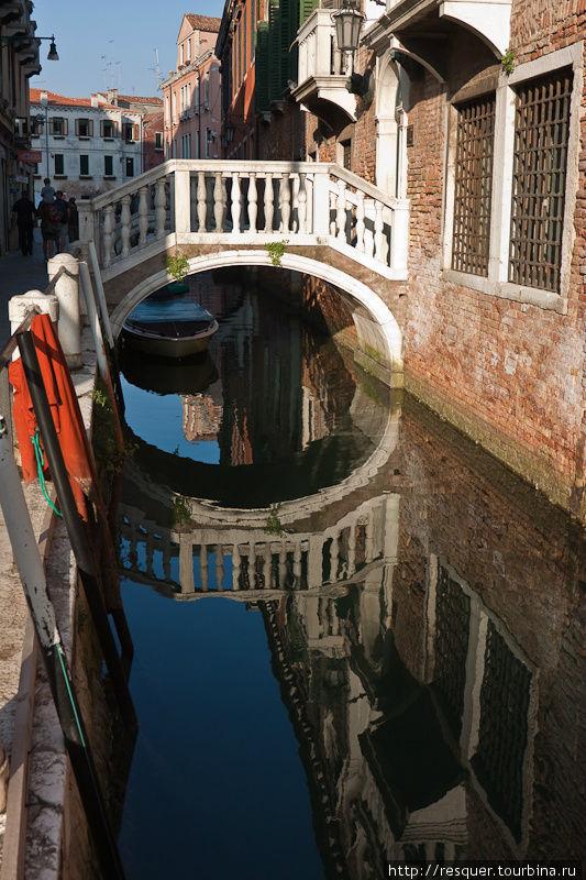 Каналы Венеции, рядом с C