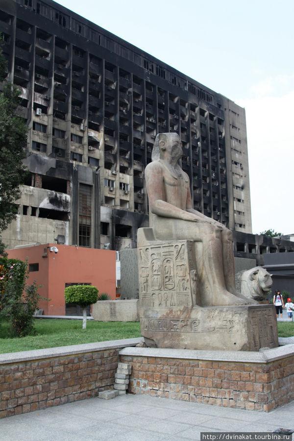 Здание тайной полиции у Каирского музея